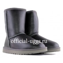 UGG MEN'S SHORT METALLIC GREY