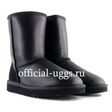 UGG MEN'S SHORT METALLIC BLACK