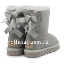 UGG Kids Bailey Bow Grey Violet II