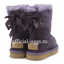 UGG Kids Bailey Bow Purple II