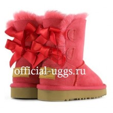 UGG Kids Bailey Bow Toddler Red II