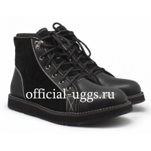 UGG MEN'S NAVAJO BOOTS BLACK