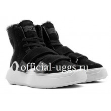 UGG SNEAKERS SIOUX TRAINER BLACK