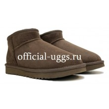 UGG MEN'S ULTRA MINI CHOCOLATE
