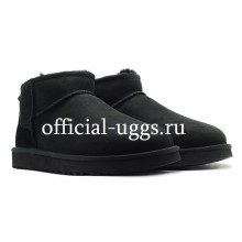UGG MEN'S ULTRA MINI BLACK