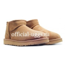 UGG MEN'S ULTRA MINI CHESTNUT