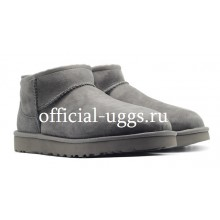 UGG MEN'S ULTRA MINI GREY