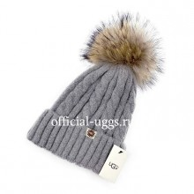UGG CAP LIGHT GREY