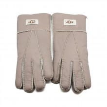 UGG MEN'S GLOVES LEATHER CAPPUCINNO - 1007