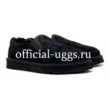 UGG STITCH SLIP BLACK