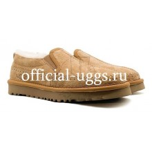 UGG STITCH SLIP CHESTNUT