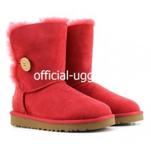 UGG BAILEY BUTTON RED II