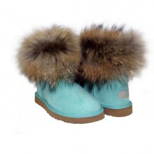 UGG MINI FOX FUR AGUA