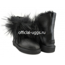 UGG FOX 2 GEN METALLIC BLACK
