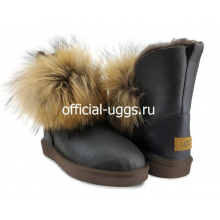 UGG FOX 2 GEN METALLIC CHOCOLATE