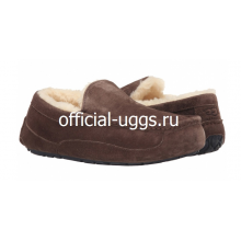UGG MOCCASINS MEN'S ASCOT CHOCOLATE