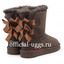 UGG Kids Bailey Bow Chocolate II