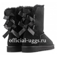 UGG Kids Bailey Bow Black II