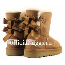 UGG Kids Bailey Bow Chestnut II