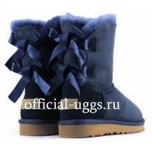 UGG Kids Bailey Bow Navy II