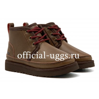 UGG AUSTRALIA KIDS BOOTS NEUMEL II WP ZIP BOOT CHOCOLATE