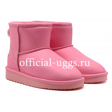 UGG AUSTRALIA KIDS MINI NIGHT GLOW PINK