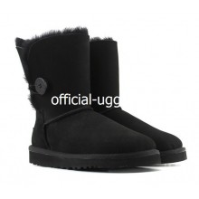 UGG Kids Bailey Button Black II