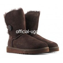UGG Kids Bailey Button Chocolate II