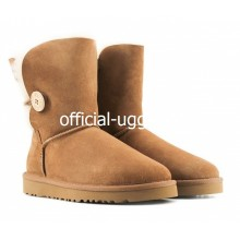 UGG Kids Bailey Button Chestnut II
